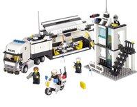 6727 Enlighten child police truck 511pcs