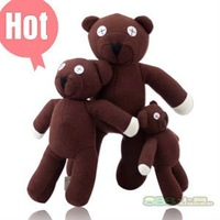 Free Shipping Wholesale 25cm MR BEAN Teddy Bear toys, best gift for baby,four size, teddy bear plush toys