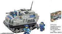 Small blocks/M38-lu B0199 special forces/apcs/small lu assembles toy / 258 PCS/no box