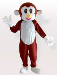 Fast custom new Happy Monkey Cartoon mascot Costume cosplay cartoon Party Free Shipping New !free shipping(Hong Kong)