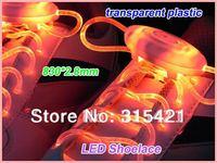 5pairs Fiber Optic LED Shoe laces shoelaces neon led flashing shoelace strong light, Drop Shipping