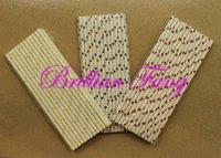 Free shipping 500pcs Mixed Star Stripe Paper Straws,  Paper Straws, Drinking Paper Straws Drinking Straws