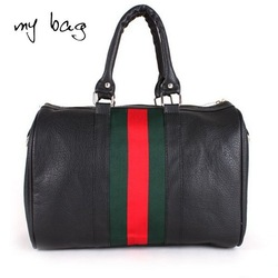 2012 hot selling simple ladies handbag pu leather popular women shoulder messenger bag free shipping factory sale A60(China (Mainland))