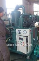 High vacuum transformer oil filtration unit for transformer oil purification