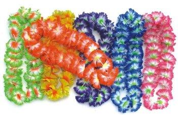 Free Shipping party supplies hawaiian flower lei garland/hawaii wreath cheerleading products hawaii necklace 50pcs/lot HH0004