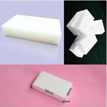 Wholesale - 100pcs/lot Magic Sponge Eraser Melamine Cleaner,multi-functional sponge for Cleaning100x60x20mm Free Shipping
