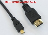 High Quality Mirco HMDI to HDMI Cable,free shipping DHL 200pcs/lot