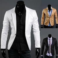 Promotion!2012 men's clothing blazer outerwear suit slim casual suits men blazer,RD68