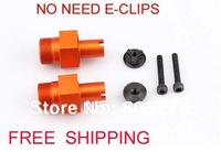 1:5 rc car parts,5SC CNC metal hex hub(front),silver,orange,titanium(2PCS)-FREE SHIPPING