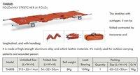 15% OFF,FREE SHIPPING Aluminum alloy Foldaway stretcher / ambulance stretcher / high quality