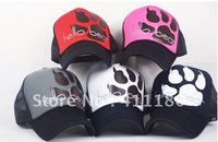 Hot sale 2012 fashion trucker mesh cap 5 colors available free shipping 10pcs/lot