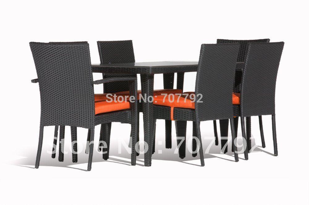 Shop Popular Rattan Furniture Malaysia from China Aliexpress : SIGMA Aluminium outdoor PE font b rattan b font font b malaysia b font dining table from www.aliexpress.com size 1000 x 666 jpeg 71kB