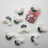 Free Shipping-200pcs MICKEY  Nail Art Resin Decoration