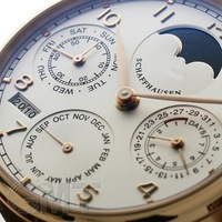 Perpetual calendar phases of the moon still show mechanical male table IW502213