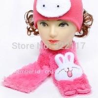 690 soft plush cartoon children scarf chromophous 10pcs/lot