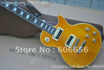 New Style custom slash signature yellow burst Electric Guitar