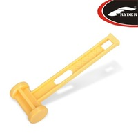 (Free Shipping)E1010  Yellow ABS Tent Mallet