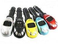 30pcs/lot Car Kit MP3 Modulator Player FM Transmitter SD/MMC/USB,Factry directly wholesale