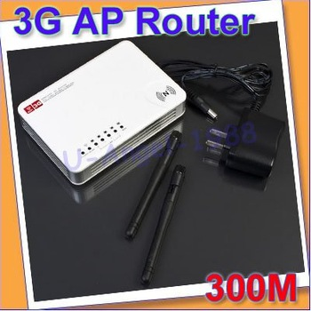Register free shipping!! 300M 3G/WAN Wireless N WiFi USB AP Router 2 Antennas