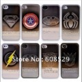 86 hero plating case for iphone 4 4s superman batman Captain American cover for iphone 4 4s with retail package