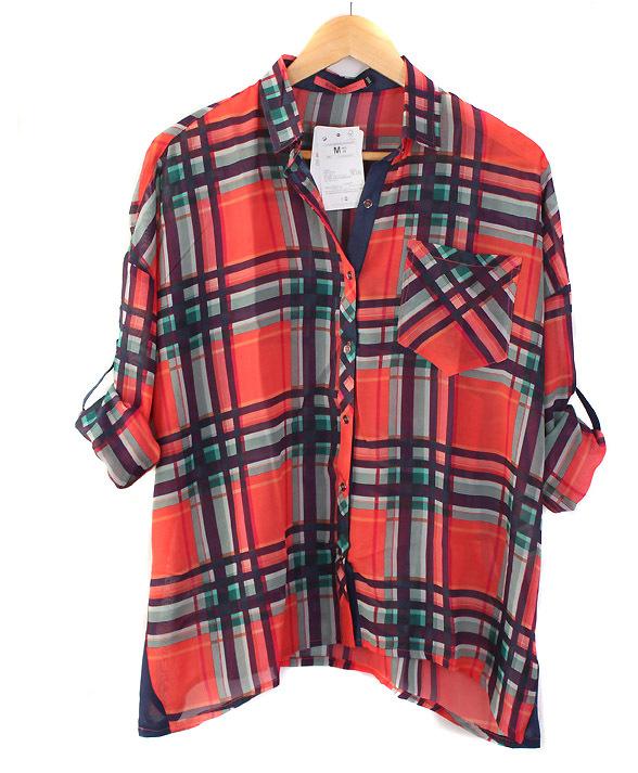 Womens Plaid Shirts