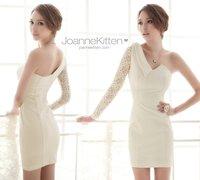 Wedding dress new oblique dress skirt dress