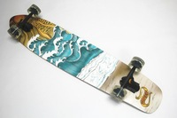 42'' Canadian Maple Skate Longboard Sector 9 Cruiser Longboard Complete Maple Skate Longboards