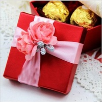 30 pcs/lot  Free Shipping Candy Box Wedding Favors Sweet Bag Gift Unique Design Wedding Supplies Best Selling