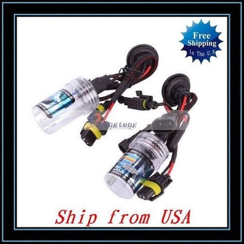 Free Shipping + Wholesale 2Pcs Xenon HID 9006 8000K 35W Ship from USA-Q01346(China (Mainland))