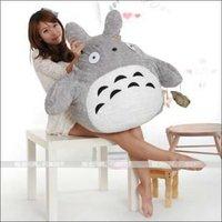 Free Shipping ,HOT SALES 60cm Lovely chinchilla Plush ,large plush toy gift ,My Neighbor TOTORO plush toys