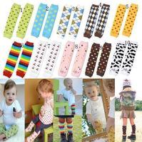 Bl 09 children socks set baby kneepad autumn and winter thermal chromophous