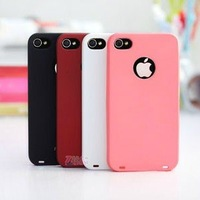 Free Shipping Fashion MOSHI Newest Plastic Hard Shell Back Cover Case For iphone 4 4G 4S
