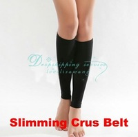 Free Shipping/Drop Shipping Wholesale Ladies Magic Slim Stretch Elastic Shaper Belt Slimming Crus Leg Calorie Off