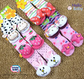 Free shipping, 2012 New style baby socks ,bell Baby Socks with animal , Baby Anti-slip Walking Socks, Children Stocking 2 - 4