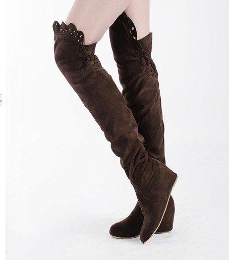 Frete Grátis, botas de inverno de alta qualidade Moda Feminina . botas de verão das senhoras botas overknee sensuais(China (Mainland))