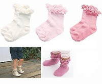 10pairs/lot wholesale free shipping cotton infant socks, girl socks, kid wear