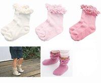 10pairs/lot wholesale free shipping cotton infant socks, girl socks, kid wear