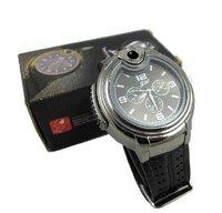 Freeshipping Watch Lighter Quartz Wrist Butane Cigarette Cigar Watch Lighter electric watch lihterlight