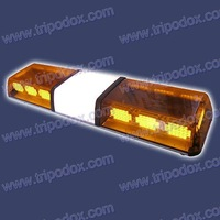 "traffic light led, 48 "" amber led lightbar, 14pcs LED modules, with multi flash patterns."