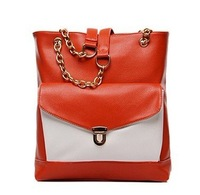 Hot Sale New Faux Leather Women's Tote Shoulder Bags Handbag purse Fashion for women's Free shipping.FD726