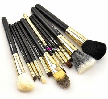 Makeup Brushes Brand on Makeup Brush 12pcs Black Eyeshadow Cosmetic Makeup Brush Professional