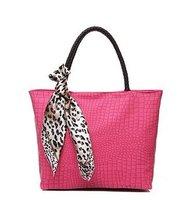 wholesale  sale pu Leather Women's Tote Shoulder Bags Handbag/bag/purse Pastel Korea tote bag