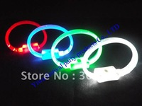wholesale LED Flash Color Changing Party Club Stage Bracelet lots free shipping