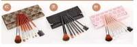 7Pcs/set Have 3colores Cosmetic Eye Shadow Blush Brushes Hair Makeup Set soft