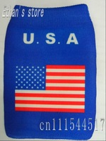 Brand New blue america flag mobile case /pouch 20pcs/lot +Free Shinpping