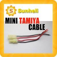 100pairs Mini Micro Tamiya battery connector plug Tamiya wire cable plugs 10cm length RC Car traxxas  Akku