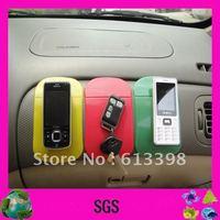 PU car sticky non slip pad /magic nano slip pad with packing