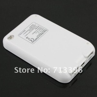 10Pcs/Lot 5000mAh Output 2 USB Power Bank Portable External Battery Pack for ipad iphone Free shipping