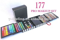 Professional 177 Makeup Set (Eyeshadow,Blush,mirror,Brush) All in one set