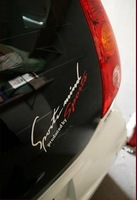 free shipping! Cool Bumper Stickers Reflective Material 19*7cm Monogram car stickers Decals